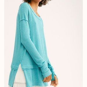 Free people North Shore Thermal oversized